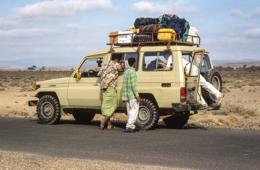 4x4;Adventure;Africa;Car;Cars;Desert;Deserts;Djibouti;Four-wheel-drive;Kaleidos;Kaleidos-images;Landscapes;Tarek-Charara;Tourism;Transport;Transportation;Transports