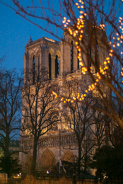 Cathedrals;Catholics;Christianity;Kaleidos;Kaleidos-images;Notre-Dame-de-Paris;Paris;Places-of-worship;Tarek-Charara;Winter