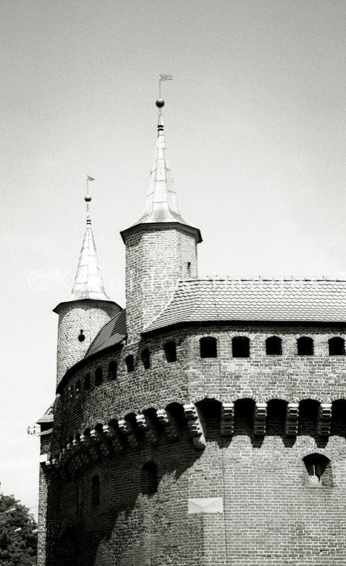 Great Barbican;Cracow;Krakow;Poland;fortification;Krakow main city gate;Brama Florianska;military;POL;Cracovie;Lesser Poland;Kleinpolen;Petite Pologne;Krakau
