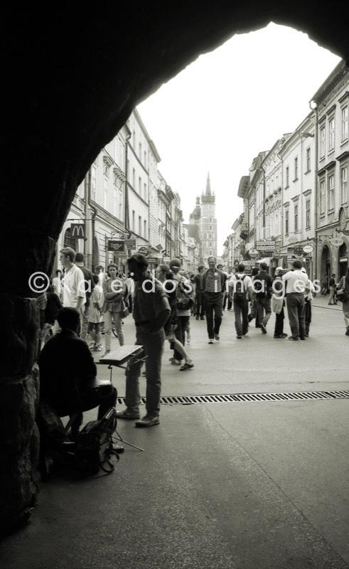 Floriańska Street;Ulica Floriańska;Florianska Gate;Brama Floriańska;Cracow;Krakow;Cracow old town;POL;Cracovie;Lesser Poland;Kleinpolen;Petite Pologne;Krakau
