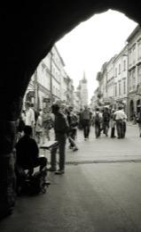 Floriańska-Street;Ulica-Floriańska;Florianska-Gate;Brama-Floriańska;Cracow;Krakow;Cracow-old-town;POL;Cracovie;Lesser-Poland;Kleinpolen;Petite-Pologne;Krakau