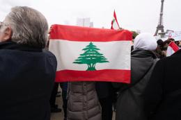 Lebanese demonstration in Paris